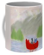 Let's Go Canoeing  Coffee Mug