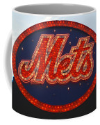 Lets Go Mets Coffee Mug by Richard Bryce and Family