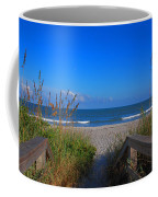 Lets Go To The Beach Coffee Mug by Susanne Van Hulst