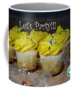 Let's Party Cupcakes Coffee Mug