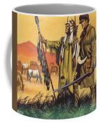 Lewis And Clark Expedition Scene Coffee Mug