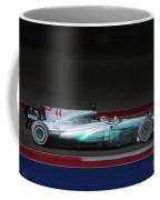 Lewis Hamilton Formula 1 Coffee Mug