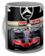 Lewis Hamilton, Mclaren- Mercedes Mp4-22 Coffee Mug