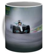 Lewis Hamilton Monza 2017 Coffee Mug