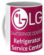 Lg Refrigerator Service Center Coffee Mug