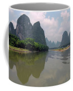 Li River At Xingping Coffee Mug