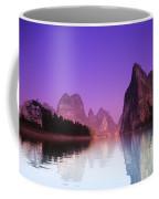 Li River Near Yangshuo Coffee Mug
