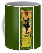 Libbys Bookmark Vintage With Girl On Beach Coffee Mug