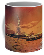Liberty Island- New York Coffee Mug