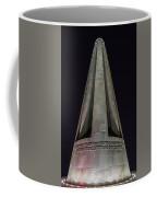 Liberty Memorial At Night Coffee Mug