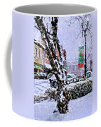 Liberty Square In Winter Coffee Mug