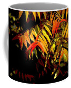 Library Leaves Coffee Mug