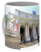 Library Lion Coffee Mug