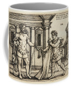 Lichas Bringing The Garment Of Nessus To Hercules Coffee Mug
