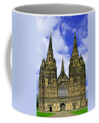 Lichfield Cathedral - The West Front Coffee Mug