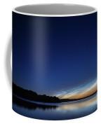 Lichtende Nachtwolken , Noctilucent Clouds Coffee Mug