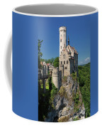 Lichtenstein Castle Coffee Mug by Yair Karelic