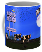 Life At The Old Milk Farm Restaurant After The Lights Went Out For The Last Time In 1986 Coffee Mug