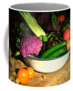 Life From The Garden  New Mexico Kitchen Palette I Coffee Mug