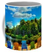 Life In The Adirondack Mountains Coffee Mug