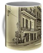Life In The Quarter - Antique Sepia Coffee Mug