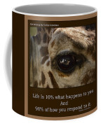 Life Is Going Eye To Eye Sometimes Coffee Mug
