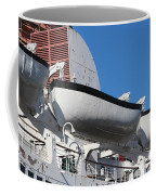 Lifeboat On Queen Mary Coffee Mug