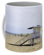 Lifeguard Station At Skegness Coffee Mug
