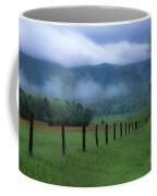 Lifting Fog In Cades Cove Coffee Mug