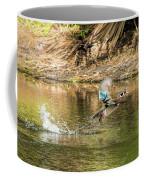 Liftoff In A Blur Of Color Coffee Mug