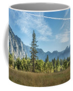 Light Across The Valley Coffee Mug