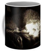 Light As He Tries To Sleep Coffee Mug
