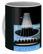 Light Blue Guitar 13 Coffee Mug