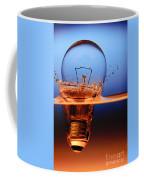 Light Bulb And Splash Water Coffee Mug
