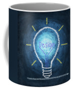 Light Bulb Design Coffee Mug