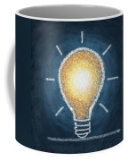 Light Bulb Design Coffee Mug by Setsiri Silapasuwanchai