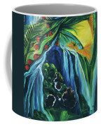 Light Dawns On A Floating World Coffee Mug