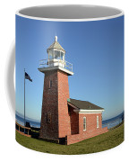 Light House At Santa Cruz Coffee Mug