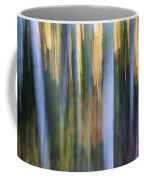 Light In Evening Forest Coffee Mug