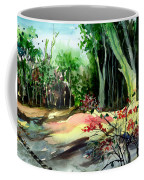 Light In The Woods Coffee Mug