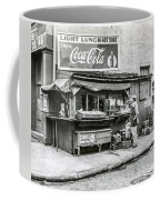 Light Lunch - Hot Dogs - Coca Cola Coffee Mug