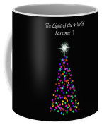 Light Of The World Christmas Card Coffee Mug