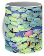 Light On Lily Pads Coffee Mug