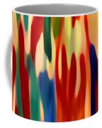 Light Through Flowers Coffee Mug by Amy Vangsgard