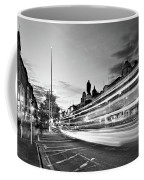 Light Trails On O'connell Street At Night - Dublin Coffee Mug