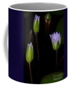 Light Violet Lilies Coffee Mug