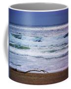 Light Waves To Sand Coffee Mug