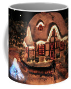 Lighted Christmas House  Coffee Mug