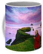 Lighthouse At Mykines Faroe Islands Coffee Mug