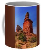 Lighthouse At Palo Duro Canyon Coffee Mug